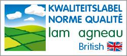 Norme Qualité Agneau - Kwaliteitslabel Lam - British