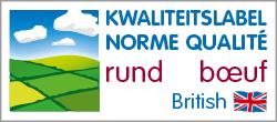 Norme Qualité Boeuf - Kwaliteitslabel Rund - British